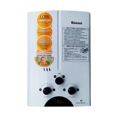 Weekend Deal - Rinnai REU-5CFC Gas Water Heater - Putih [5L]