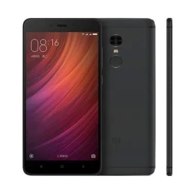 Xiaomi Redmi Note 4 Pro Snapdragon Smartphone - Black [64 GB/4 GB]