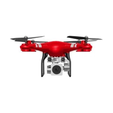 JJRC Wide Angle Lens Wifi FPV Camera Drone - Red