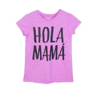 Millenia PLT 01 Hola Mama T-Shirt Anak Perempuan