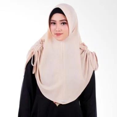 Atteenahijab Amanda Adelina Jilbab Instan - Tan