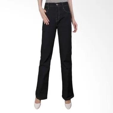 Adore Ladies 644401 Celana Jeans Wanita - Black