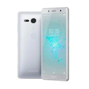 SONY XPERIA XZ2 Compact Smartphone - White Silver [64GB/RAM 4GB]