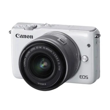Canon EOS M10 Kit EF-M15-45mm Mirrorless - FREE Sandisk SDHC 16GB