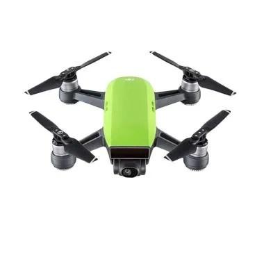 DJI Spark Mini Drone Fly More Combo - Meadow Green -Hijau