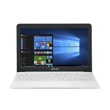 Asus E203NAH-FD412T Notebook - White [N3350/ 4GB/ 500GB/ Win 10]