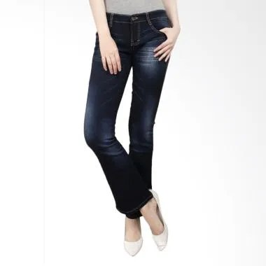 Adore Ladies 963501 Celana Jeans Wanita - Dark Blue
