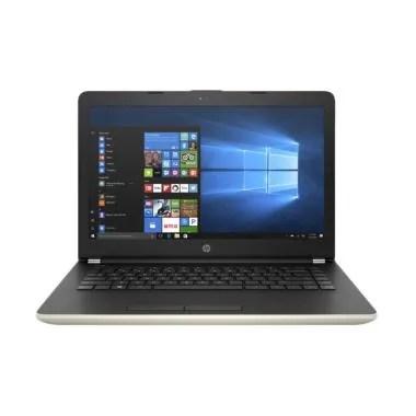 HP 14-BW501AU Notebook - Gold [ A4-9120/4GB/500GB/14 Inch/Win10]
