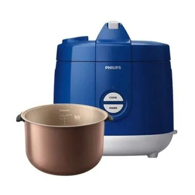 PHILIPS HD3129/31 Premium Rice Cooker - Blue