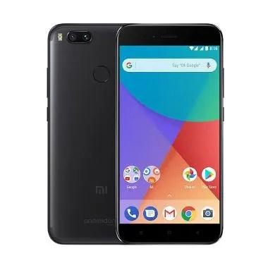 Xiaomi Mi A1 Smartphone - Black [64GB/4GB/Resmi TAM]