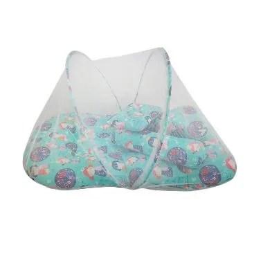 Babybess Kelambu Kimono Kasur Lipat - Biru