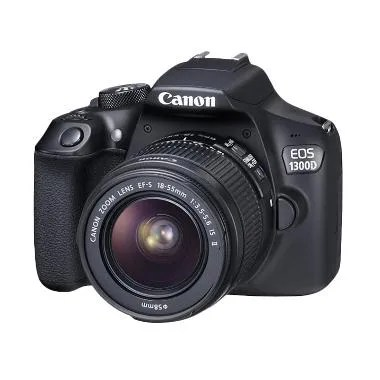 Canon EOS 1300D Kit 18-55 IS II WiF ... k + Free LCD Screen Guard