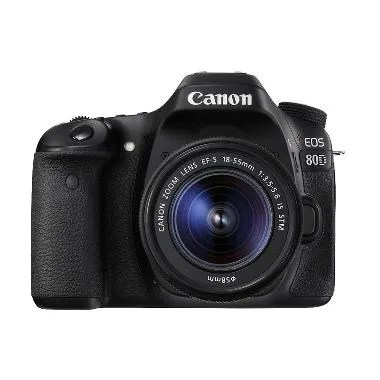 Canon EOS 80D Kamera DSLR with 18-55mm Lens