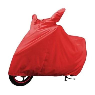 Cover Super Motor Cover - Merah [XXL]
