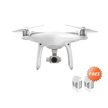 DJI Phantom 4 Drone Camera + Free 2 Pcs Extra Battery