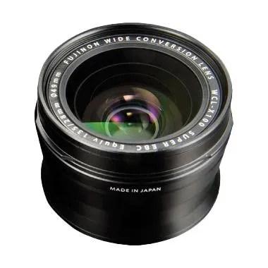 Fujifilm WCL-X100 Wide Conversion Lens Black Lensa Kamera