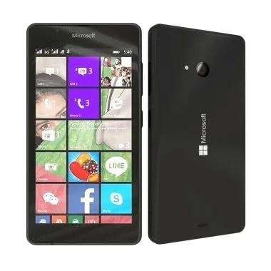 Microsoft Lumia 540 Smartphone - Black [8 GB/ 1 GB]