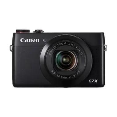 Canon PowerShot G7X Hitam Kamera Po ...