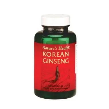 Nature's Health Korean Gingseng 500 ...