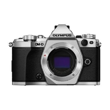 Olympus OM-D E-M5 Mark II Silver Kamera Mirrorless [Body Only]