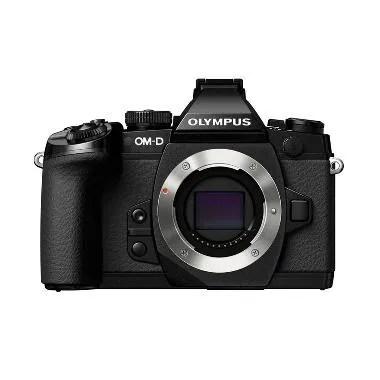Olympus OMD EM1 Kamera Mirrorless - Black [Body Only]