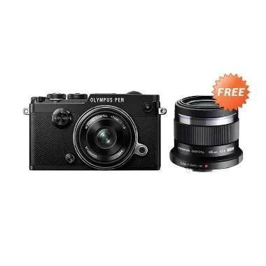 Olympus PEN-F M. Zuiko Kit  17mm f1 ... iko 45mm f1.8 Lens Kamera