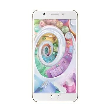 Oppo F1S Smartphone - Gold Free Tempered Glass