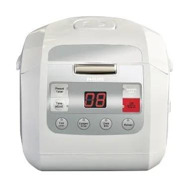 Weekend Deal - Philips HD3030/30 Fuzzy Logic Rice Cooker - Putih