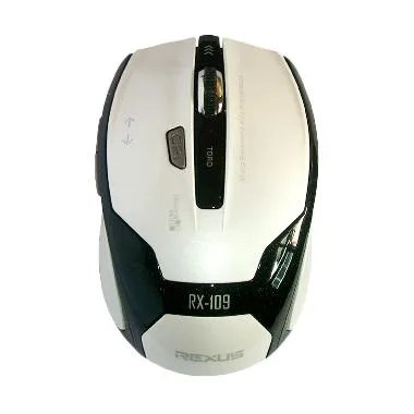 Rexus RX-109 Putih Gaming Mouse Wireless