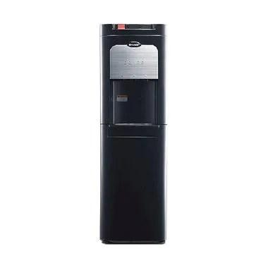 Sharp SWD-80EHL-BK Dispenser - Black [Bottom Loading]
