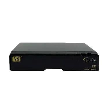 Skybox V8 Golden DVB-S2 Receiver Pa ... er Vu/Bisskey/CCCAMD/FTA]