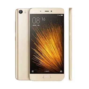 Xiaomi MI5 Smartphone - Gold [64GB/ 3GB/ Garansi Distributor]