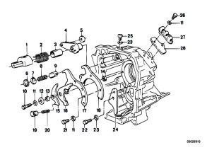 Original Parts for E34 518i M40 Sedan  Manual