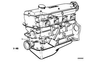 Original Parts for E21 318i M10 Sedan  Engine Short