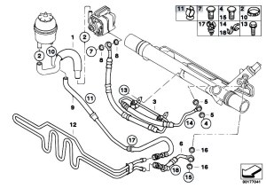Original Parts for E90 320i N46 Sedan  Steering Hydro