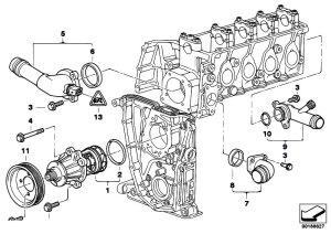 Original Parts for E46 316i 19 M43 Sedan  Engine