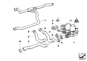 Original Parts for E36 316g M43 Compact  Heater And Air