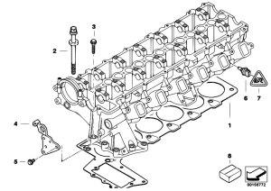 Original Parts for E90 330d M57N2 Sedan  Engine Cylinder