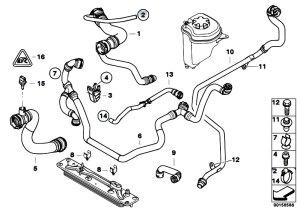 Original Parts for E70 X5 30si N52N SAV  Radiator