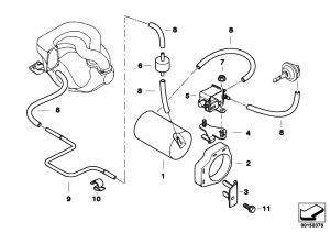 Original Parts for E34 518i M43 Sedan  Engine Vacuum