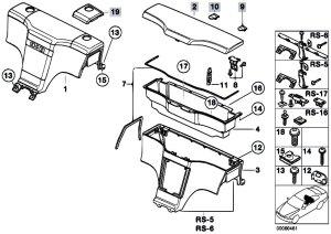 Original Parts for Z3 Z3 19 M44 Roadster  Vehicle Trim