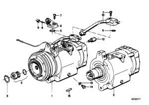 Original Parts for E21 318i M10 Sedan  Heater And Air