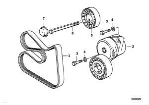 Original Parts for E34 525ix M50 Touring  Engine Belt