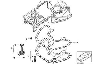 Original Parts for E67 745LiS N62 Sedan  Engine Oil Pan