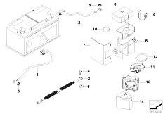 Original Parts for Z3 Z3 M32 S50 Roadster  Engine Electrical System Plug Terminal Eingine