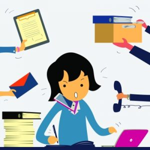 """Very Busy Business Woman"" Image courtesy of jesadaphorn at FreeDigitalPhotos.net"