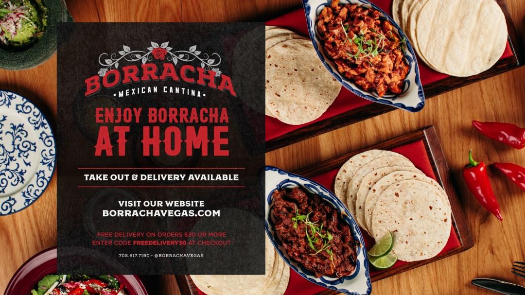 Borracha Order Online