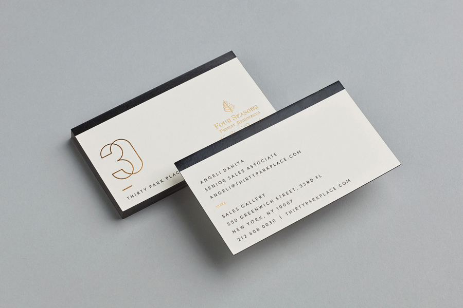 30 Park Place branding