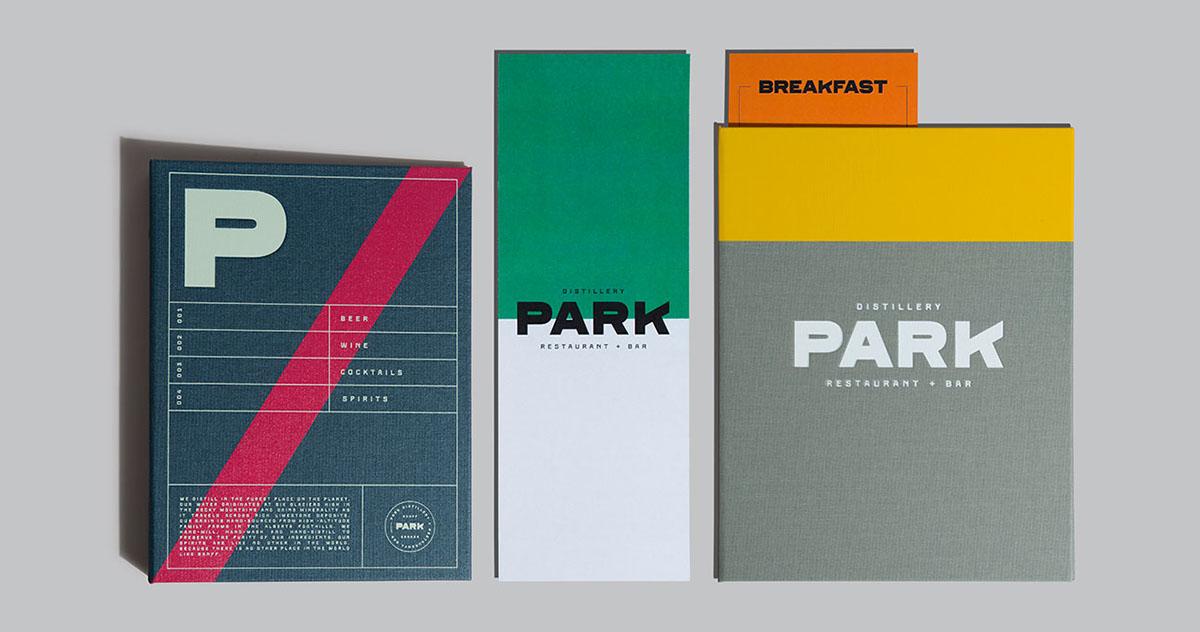 Park Restaurant-Bar Branding
