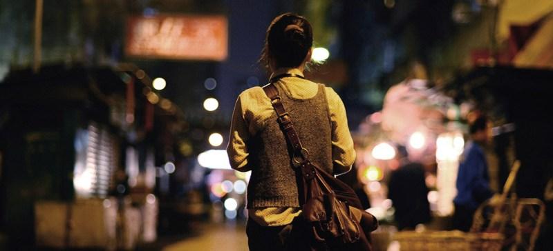fear of walking alone at night statistics